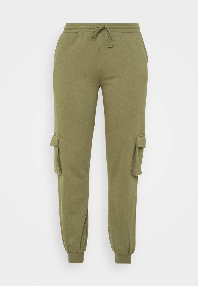 PCSARIA PANTS - Pantalon classique - burnt olive