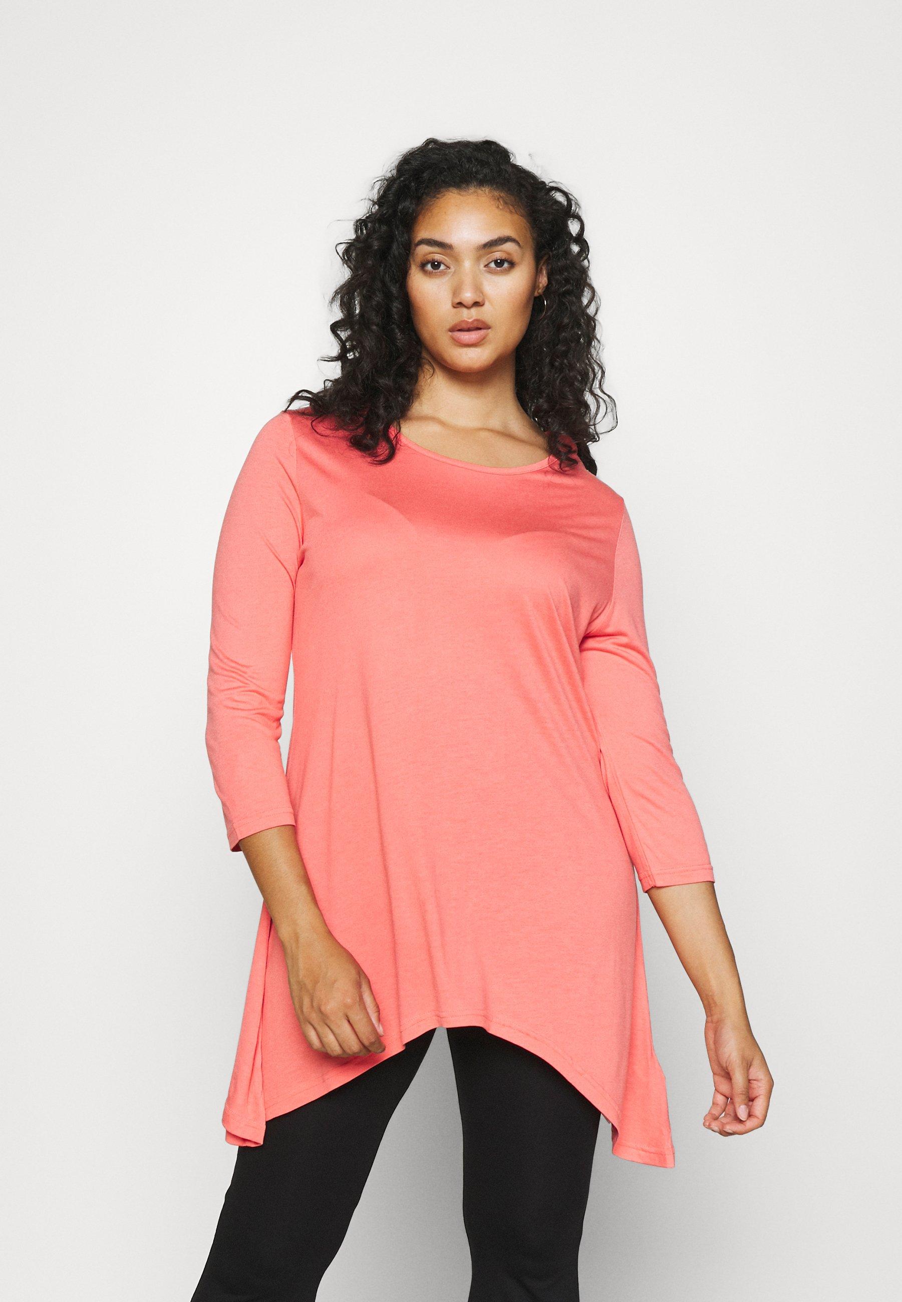 Women HANKY HEM 2 PACK - Long sleeved top