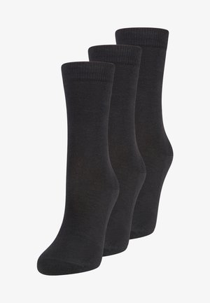FALKE Family Mehrfachpack Socken 3 PACK - Socks - black