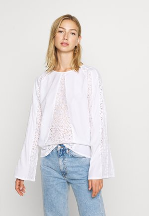 DETAIL BLOUSE - Bluser - white