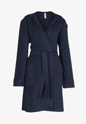 MIT KAPUZE  - Dressing gown - navy