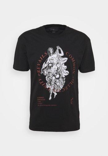 PREVAIL UNISEX - T-shirt med print - black