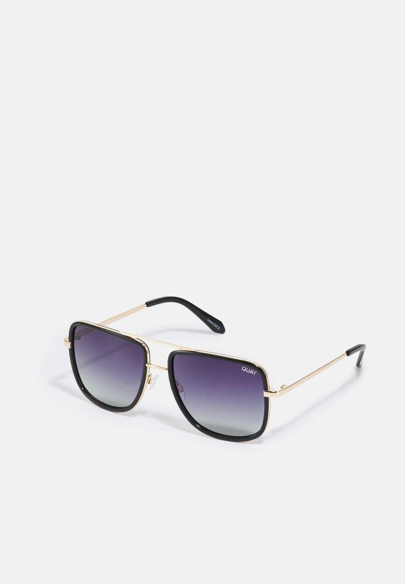 QUAY AUSTRALIA - ALL IN NAVIGATOR - Sluneční brýle - black/smoke