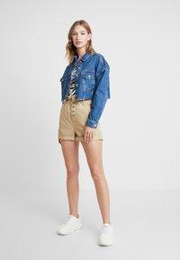 Topshop - HACK - Denim jacket - blue denim - 1