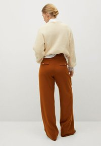 Violeta by Mango - TEJAS - Trousers - brown - 2