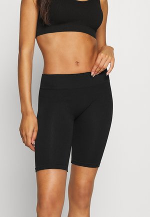 ONLVICKY SEAMLESS SHORTS - Pyjamasbukse - black