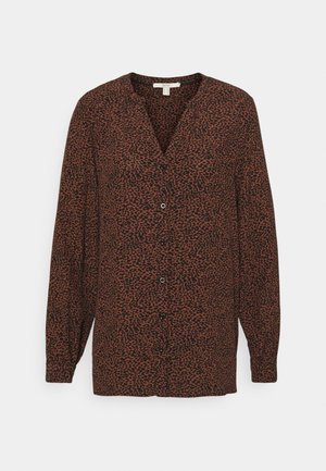 BLOUSE - Blouse - brown