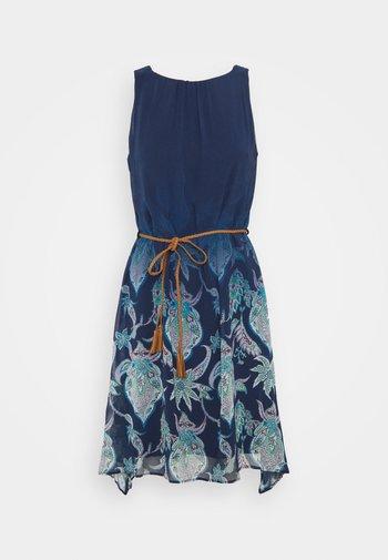 JANE - Kjole - blue