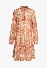 Cream - AGANACR  - Day dress - baked clay - 0