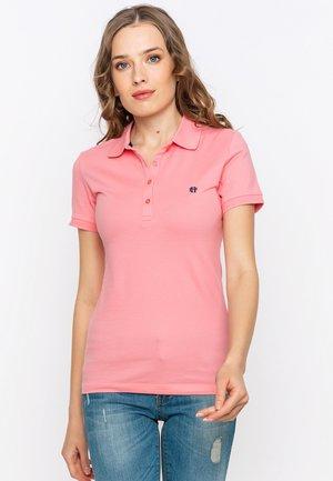 SHORT SLEEVE - Polo shirt - pink
