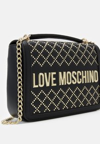 Love Moschino - BORSA AVORIO - Kabelka - black - 3