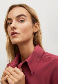 Mango - CEBRA-A - Button-down blouse - maroon - 3