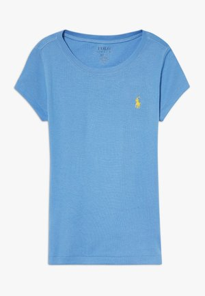 Basic T-shirt - harbor island blue/signal yellow