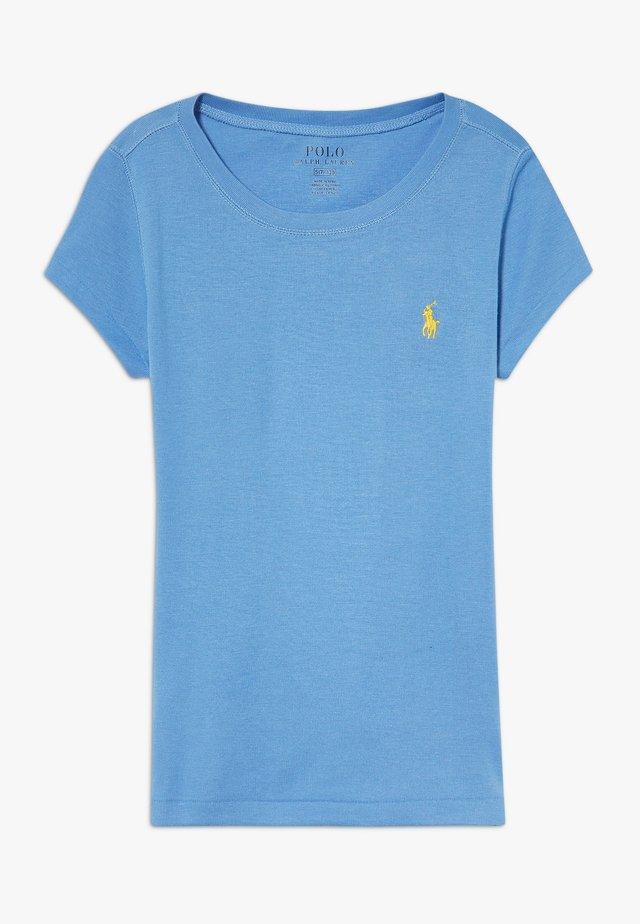 T-shirts - harbor island blue/signal yellow