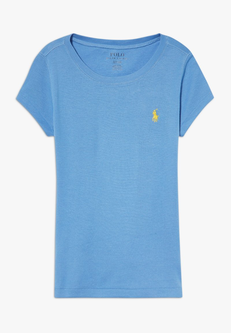 Polo Ralph Lauren - TEE - T-shirt basique - harbor island blue/signal yellow