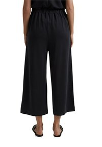 Esprit - CULOTTE - Trousers - black - 8