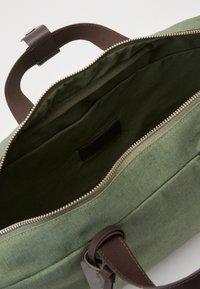 Pier One - UNISEX - Briefcase - khaki - 4