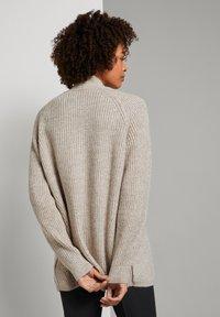 TOM TAILOR - Cardigan - light warm beige melange - 2