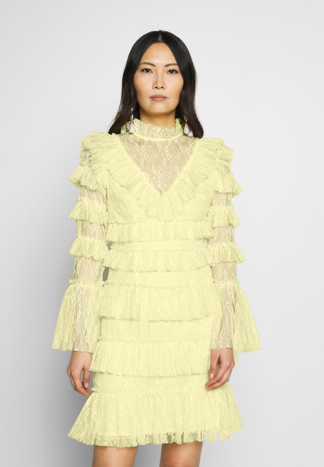 DRESS - Cocktailkjole - lemon