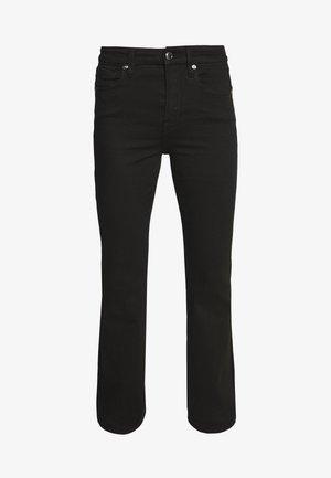 THE FLARE - Široké džíny - black