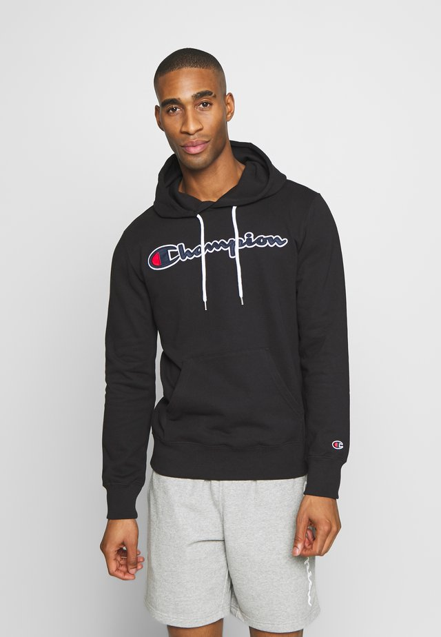 ROCHESTER HOODED - Huppari - black