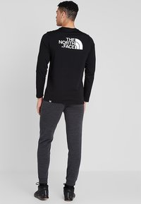 The North Face - MENS EASY TEE - Langarmshirt - black - 2
