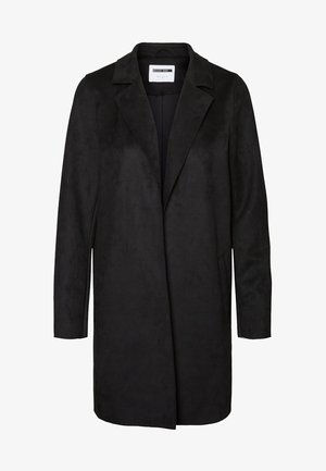 NMSUE COATIGAN - Short coat - black