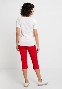 Marc O'Polo - SHORT SLEEVE BOAT NECK - Basic T-shirt - white - 2