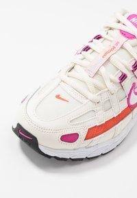Nike Sportswear - P-6000 SUFA20  - Sneakers - pale ivory/white/fire pink/team orange/photon dust/black - 6