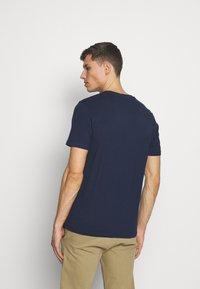 TOM TAILOR - T-shirts basic - black iris blue - 2