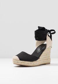 New Look - TRINIDAD - High heeled sandals - black - 4