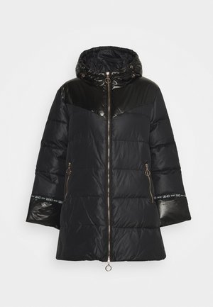 IMBOTTITO PIUMA LUNG - Down coat - nero