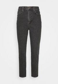 HIGH WAISTED TAPER - Zúžené džíny - black denim