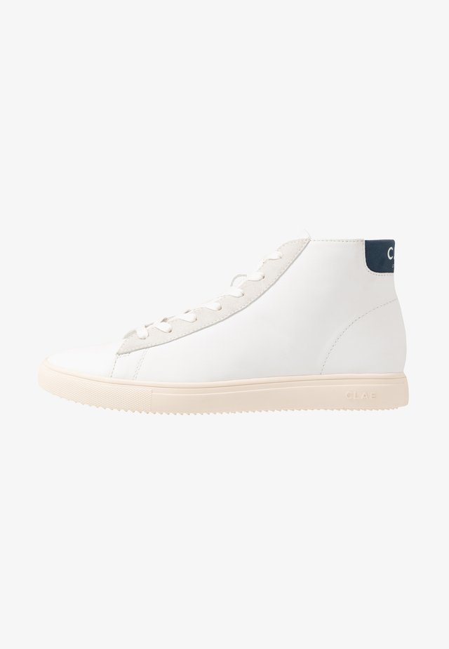 BRADLEY MID - Höga sneakers - white/ensign blue