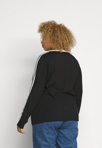 adidas Originals - Long sleeved top - black/white - 2