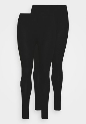 VMPAXI 2 PACK - Leggings - Trousers - black