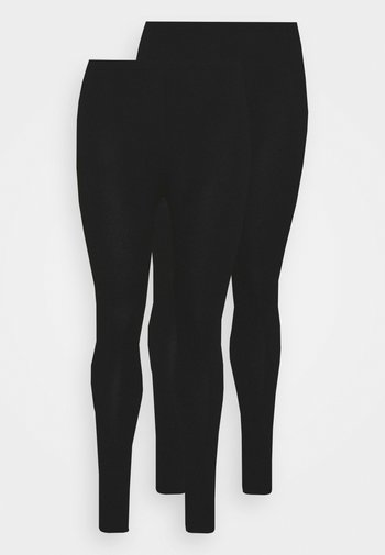 VMPAXI 2 PACK - Leggings - Trousers - black
