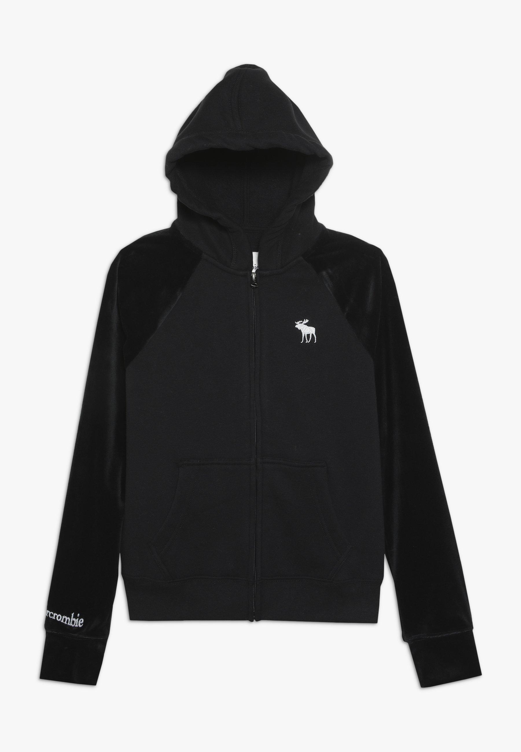Große Förderung Abercrombie & Fitch CORE - Sweatjacke - black | Damenbekleidung 2020