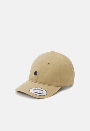 MADISON LOGO UNISEX - Cap - beige/dark navy