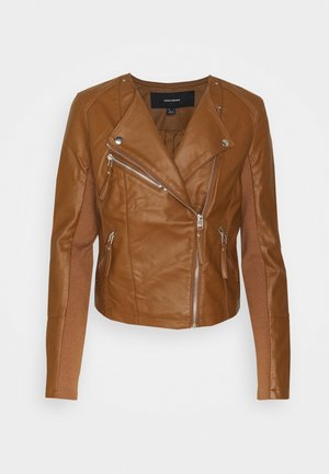 VMRIAFAVO - Faux leather jacket - emperador