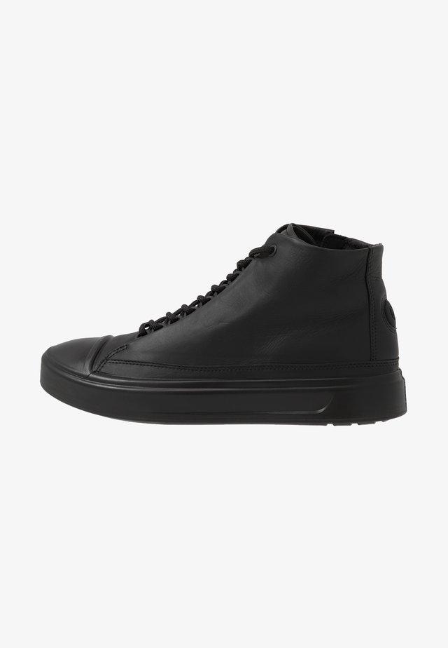 FLEXURE T-CAP - Vysoké tenisky - black