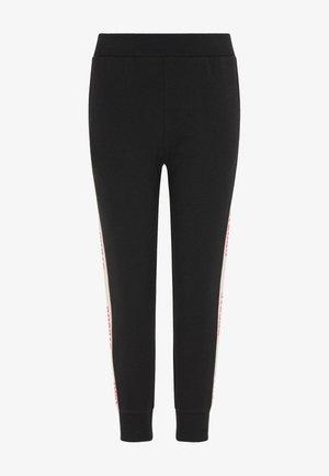 Legging - schwarz hellrosa