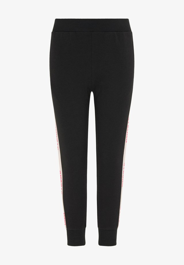 Leggings - schwarz hellrosa