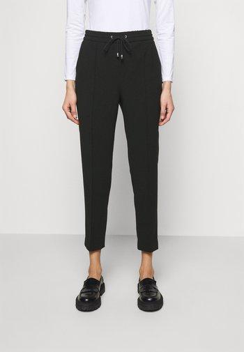 FIONA DRAPEY TROUSER - Trousers - black