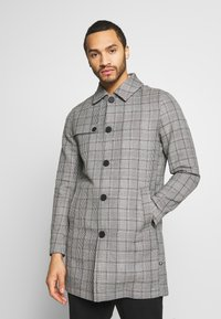 Only & Sons - ONSARCHER CARCOAT  - Trenchcoat - black/checks - 0