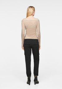 comma - Long sleeved top - champagner - 2