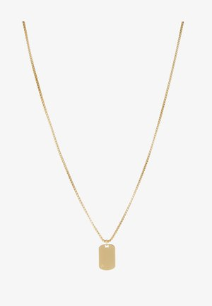 ID TAG NECKLACE - Necklace - gold-coloured