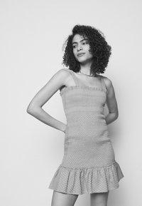 CECILIE copenhagen - JUDITH - Pletené šaty - blue - 4