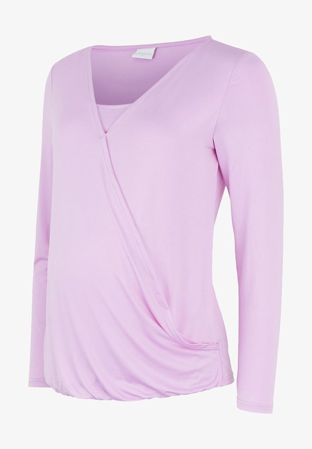 LONG SLEEVED - Long sleeved top - violet tulle