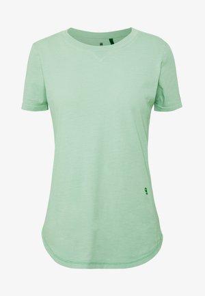 MYSID RECYCLE DYE SLIM - Basic T-shirt - freez green